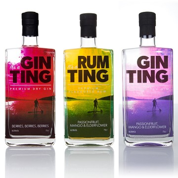 GinTing Premium Gin: Exhibiting at the Takeaway Innovation Expo